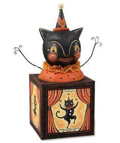 Black Cat Candy Box