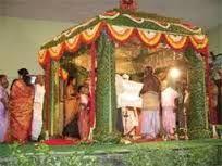 Image result for kerala wedding entrance banana and coconut decoration