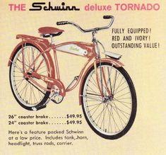 1964 Schwinn Tornado - My first real bike