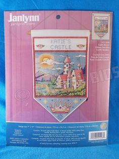 Janlynn Counted Cross Stitch Kit Castle Banner Personalize with Name 021-1406 in Crafts, Needlecrafts & Yarn, Cross Stitch & Hardanger, Kits | eBay