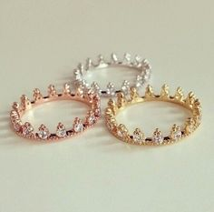 Rose Gold Morganite Engagement Ring Set Unique Rose Gold Morganite Ring with Matching Band Diamond Engagement Rings - Fine Jewelry Ideas Wedding Band Sets, Diamond Wedding Bands, Diamond Engagement Rings, Ring Set, Ring Verlobung, Tiara Ring, Cute Rings, Unique Rings, Pretty Rings