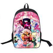 Steven Universe Backpack bag childrens youth teen adult school laptop books carrying Cartoon trendy peridot garnet connie