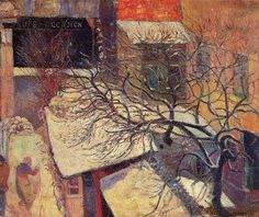Paul Gauguin Paris in the Snow, 1894 Van Gogh Museum, Amsterdam