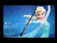 【Disney's Frozen】 Let It Go (Clarinet Cover)