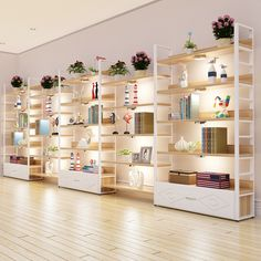 Continental door shoe store shoe cosmetic display shelf container display cabinet floor to ceiling shelves drawers
