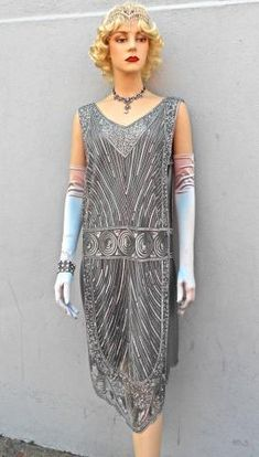 Come and see our collection of incredible beaded flapper dresses.  They are great for any 1920's or Great Gatsby Party.