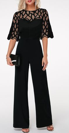 2020 Jumpsuit outfits - Classy jumpsuit rompers, chic office wear, elegant jumpsuits for women. Up to 60 2019 Jumpsuit outfits - Classy jumpsuit rompers, chic office wear, elegant jumpsuits for women. Mode Outfits, Office Outfits, Edgy Outfits, Office Wear, Classy Outfits, Dress Outfits, Fashion Dresses, Office Uniform, Casual Office
