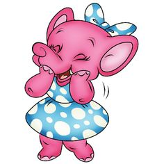 dumbo cartoon | Fynny Cute Cartoon Dumbo Pink Elephant Pictures Animation Drawings