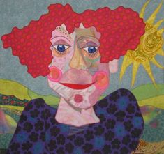 Bodil's Patchwork Pictures - Portraits