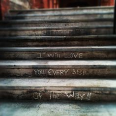 I will love   You every step   of the way   ~ A Small Snippet