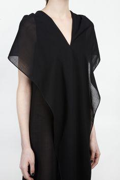 Nicolas Andreas / Draped Dress / Patron of the New.