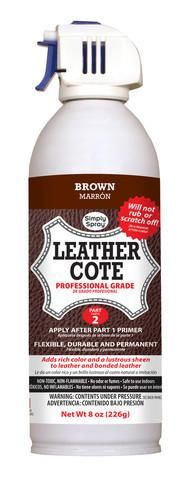 DON'T REPLACE IT - SPRAY IT NEW! Simply Spray Leather Dye is the perfect…