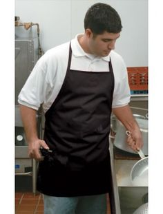 Water-Proof Bib Apron, available in three colors and two sizes. Tool Apron, Bib Apron, Restaurant Aprons, Waterproof Bibs, Work Tools, Colors, Style, Swag, Colour