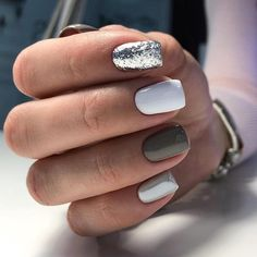 28 perfect winter nail designs to make you feel warm 29 > Fieltro.Net Winter Nails Acrylic Water 28 perfect winter nail designs to make you feel warm 29 > Fieltro. Hair And Nails, My Nails, Shellac Nails, Jamberry Nails, Gel Manicure, Nail Polishes, Stiletto Nails, Gel Nail, Nagellack Design