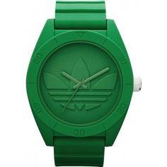 ADIDAS | Montre Verte | http://www.rienasemettre.fr/shopping-list/montre-homme-monochrome-verte-adidas/