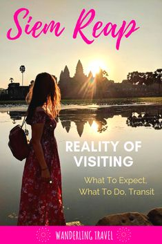 What is the reality of traveling to Siem Reap? Where should I stay? Is it expensive? Get to know what you are in for in Siem Reap and learn the Do's/Don'ts of the city. Discover the answers by clicking through! Cambodia Beaches, Cambodia Travel, Travel Advice, Travel Guides, Travel Tips, Asia Travel, Solo Travel, Best Travel Apps, Responsible Travel