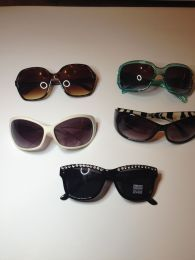 Available @ TrendTrunk.com Lot of 4 sunglasses Accessories. By Lot of 4 sunglasses. Only $23.00!