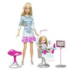Barbie Dental Hygienist/Dentist... Why didn't I get this as a child