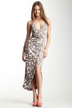 Surplice Cami Dress