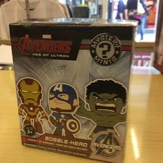 """""""Avengers age of Ultron mystery mini by funko £8 each #ageofultron #avengers #funko #marvel Like this? I'm selling it on @depopmarket. Search for me: diversions on #depop ✌ """" Photo taken by @diversionsgifts.co.uk on Instagram, pinned via the InstaPin iOS App! http://www.instapinapp.com (07/17/2015)"""