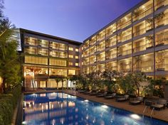 Bali Holiday Inn Express Bali Raya Kuta Indonesia, Asia Set in a prime location of Bali, Holiday Inn Express Bali Raya Kuta puts everything the city has to offer just outside your doorstep. Offering a variety of facilities and services, the hotel provides all you need for a good night's sleep. All the necessary facilities, including free Wi-Fi in all rooms, 24-hour front desk, facilities for disabled guests, airport transfer, meeting facilities, are at hand. Television LCD/pla...