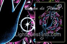 LightQuest International - Art that Transforms You! Fairy Godmother, Visionary Art, Neon Signs, Fine Art