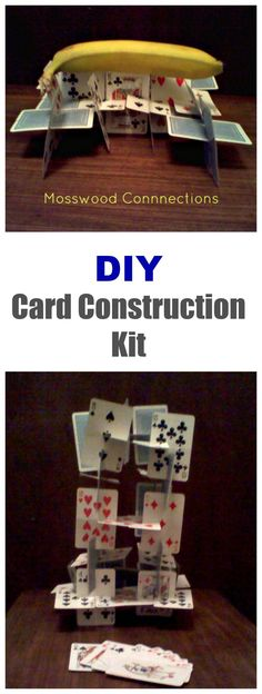Building a House of Cards DIY Construction kit