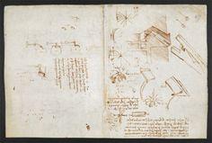 Da Vinci's notebook - The Codex Arundel