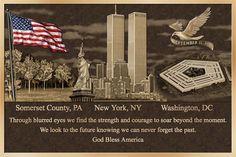 sept 11 2001 pennsylvania | Sept 11 Plaque