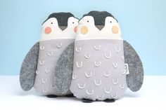 Penguin soft toys Cool Toys, Penguins, Little Ones, Coin Purse, Joy, Pillows, Penguin, Cushions, Being Happy