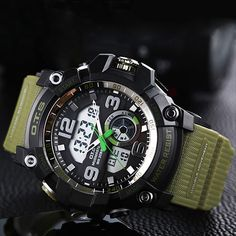 OTS 2017 Sport Watches Digital LED Watch Men Top Brand Luxury Famous Wrist Watch Male Clock Electronic Hodinky Relogio Masculino