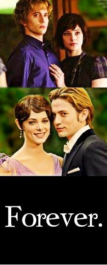 Alice Cullen and Jasper Hale....Forever