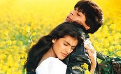 Happy Birth Day Shahrukh Khan - As the King of Romance turns 47 on November we look at some of his best pairings with the gorgeous ladies of Bollywood. Take a look! Hindi Movies, Srk Movies, Juke Box, Shahrukh Khan And Kajol, Kajol Dilwale, Salman Khan, Happy Hug Day, Yash Raj Films, Romantic Movies