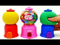 Peppa Pig Learn Colors with Rainbow Kinetic Sand M&Ms Chocolate Dispenser Surprise Toys for Kids - YouTube