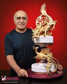 Dragon and Phoenix Cake tutorial coming really soon! http://www.yenersway.com/tutorials/coming-soon/dragon-and-phoenix-cake/?utm_content=buffer8dddc&utm_medium=social&utm_source=pinterest.com&utm_campaign=buffer