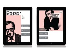 Ipad Magazine on Behance
