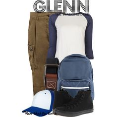 """Glenn (The Walking Dead)"" by kerogenki on Polyvore"