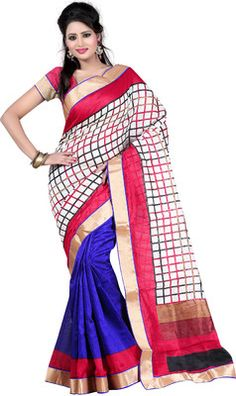 Fashiondeal Printed Fashion Cotton Sari - Buy Multicolor Fashiondeal Printed Fashion Cotton Sari Online at Best Prices in India | Flipkart.com