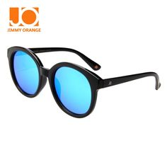 60.00$  Watch here - http://alizmq.worldwells.pw/go.php?t=32759054722 - Jimmy Orange Vintage Plastic Frame Round Polarized Sunglasses Women  Luxury Sun Glasses Female Brand Designer JO5113 60.00$