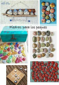 Ideas para pintar piedras.