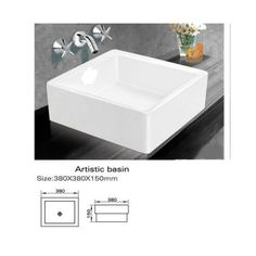 Marcus Above Counter Basin Square By Ostar. Get It Now Or Find More Bathroom  Basins At Temple U0026 Webster.