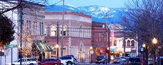downtown Sandpoint, Idaho