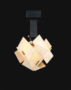 'LA FLEUR' CEILING LIGHT MODEL NO. 'LP 270' by Pierre Chareau