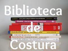 Lista de los libros de costura con los que he aprendido a coser