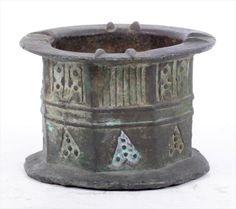 An Early Persian Bronze Mortar