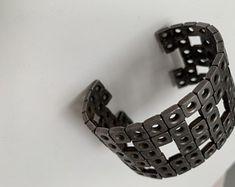 Items similar to Steampunk Hex Nut Hardware Inch Bracelet on Etsy Steampunk, Hardware, Bracelets, Etsy, Jewelry, Jewlery, Bijoux, Jewerly, Steam Punk