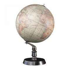 Authentic Models Chicago Art Deco Globe - GL043