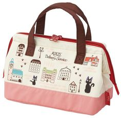 Kiki's Delivery Service Cooler Lunch Bag For Bento Box Studio Ghibli From Japan