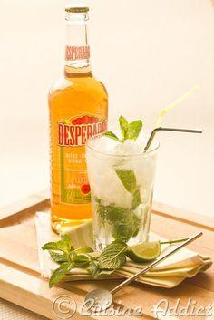 Despejito, the summer cocktail! Cocktail Drinks, Cocktail Recipes, Alcoholic Drinks, Mojito Recipe, Winter Cocktails, Different Recipes, Summer Recipes, Food And Drink, Snacks
