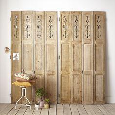 volets ancien portes placard chêne matériaux moulures boiserie